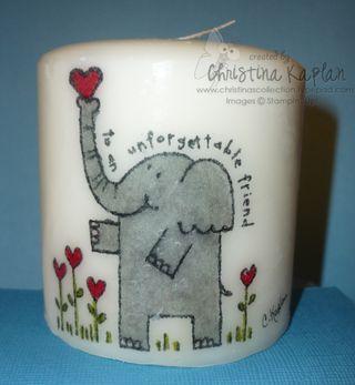 Elephant Candle-0